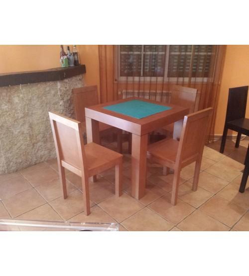 Mesa de jogo para cartas/xadrez/damas