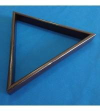 Triângulo em madeira